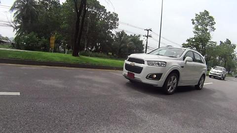 Chevrolet Captiva Media Test Drive