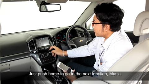 Tutorial About Chevrolet Captiva Mylink And Apple Carplay