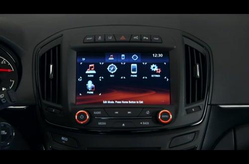 Opel Insignia Intellilink: Control Center