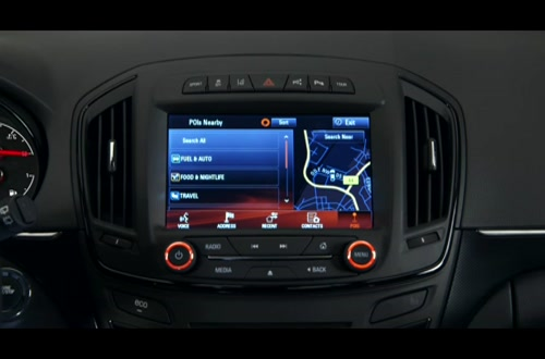 Opel Insignia Intellilink: Die Navigation