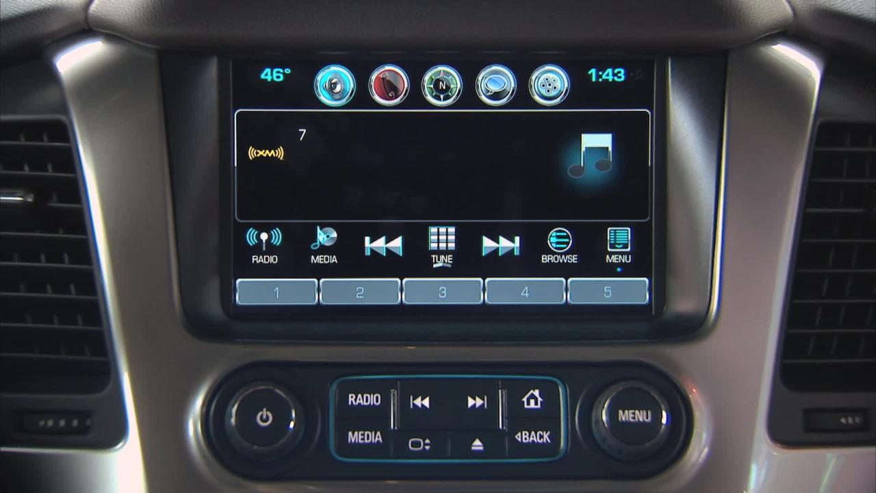 Siriusxm Satellite Radio And Infotainment Chevrolet