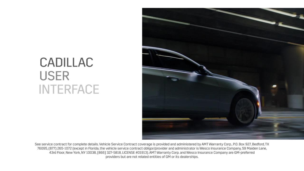 Cadillac Vehicle Protection Plans | Cadillac Ownership
